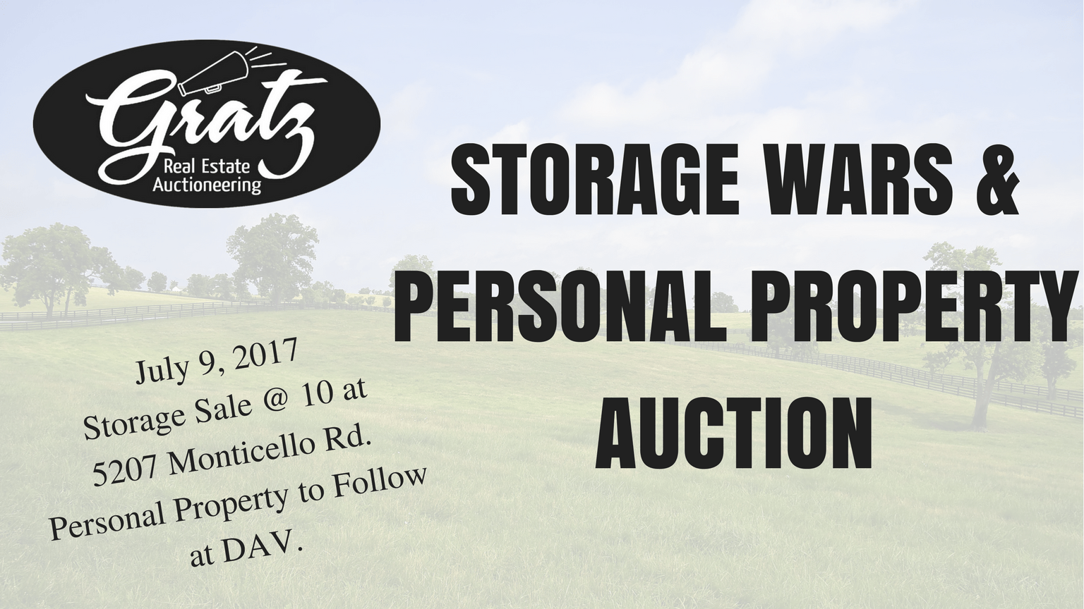 Storage Wars Amp Personal Property Auction Monticello Rd
